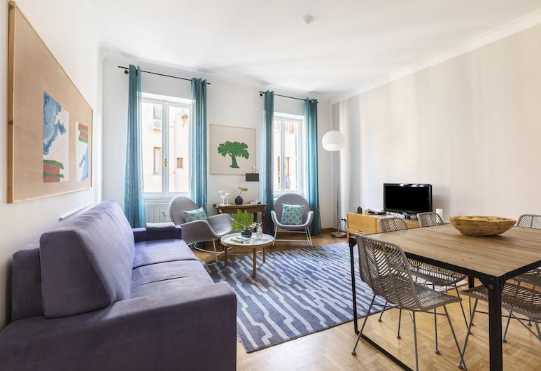 Rome Accommodation - Condotti I, Rom, Lejlighed - 3 soveværelser, Stue