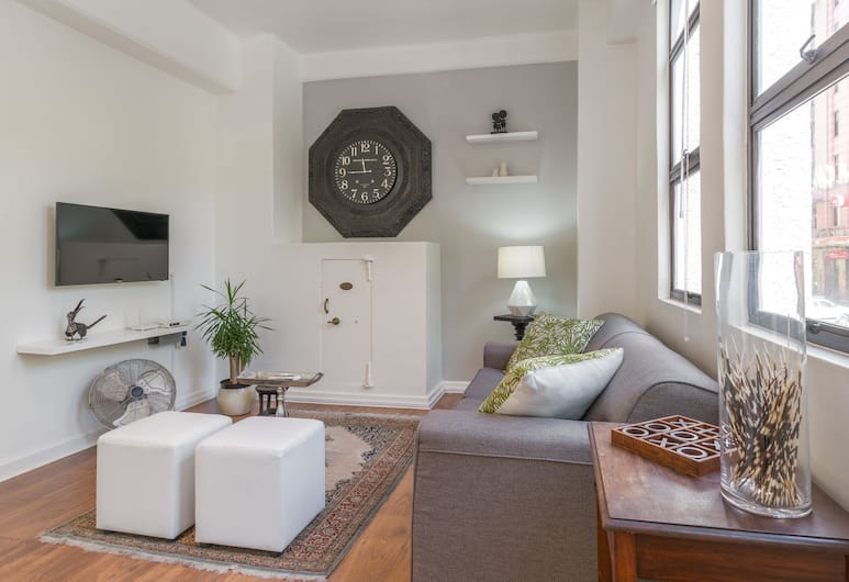 Murray House Suite, Cape Town, Luxury Apartment, 1 Bedroom, Living Room