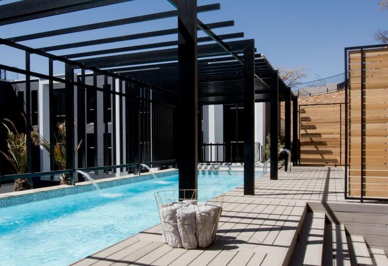 Am Weinberg Boutique Hotel, Windhoek, Venkovní bazén