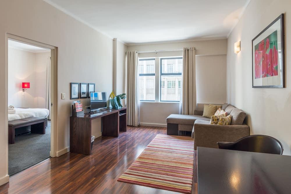 極品公寓, 1 間臥室 - 客廳