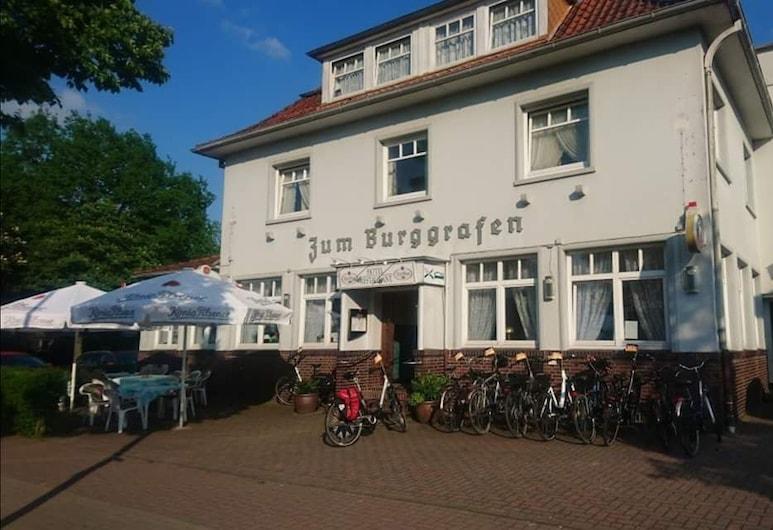 Pension Zum Burggrafen, Delmenhorst, Hótelframhlið