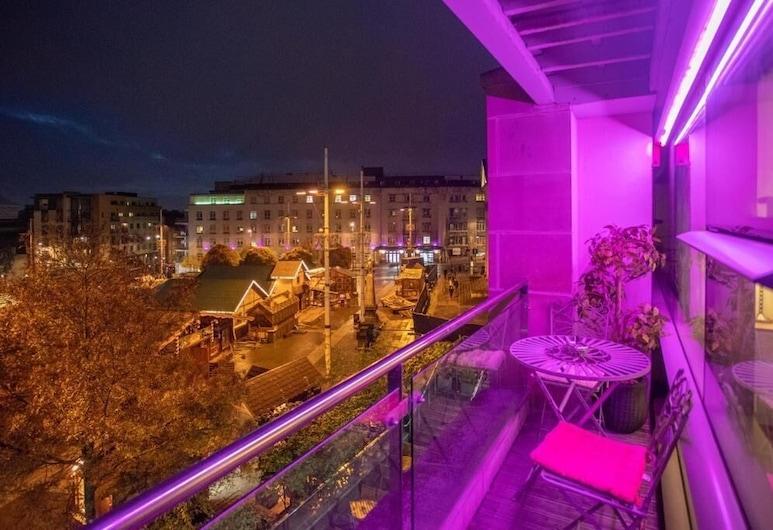 Live in Leeds Millenium Square Apartment, Leeds, Apartmán typu Deluxe, vlastná kúpeľňa (Occupancy 2), Salónik