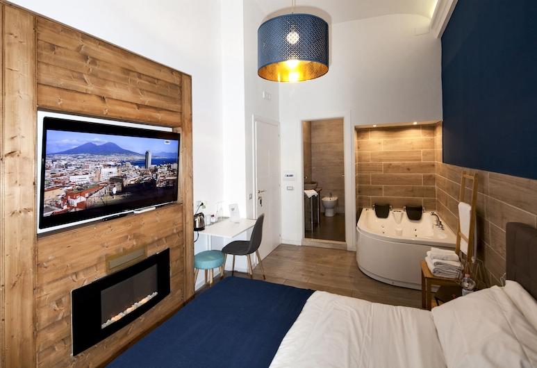 那不勒斯舒適圈酒店, 那不勒斯, 豪華客房, 熱水浴缸, 客房