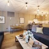 Apartamento Deluxe, 2 Quartos - Área de Estar