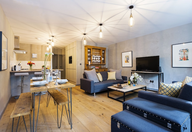 The Kensington Ladbroke Residence - BP4, London, Deluxe-Apartment, 2 Schlafzimmer, Wohnbereich