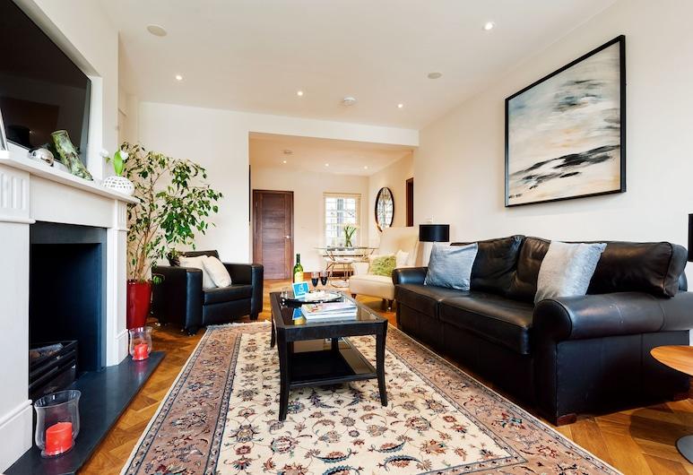 The Chelsea Pelham Retreat - KBW, London, Deluxe-Apartment, 2Schlafzimmer, Wohnbereich