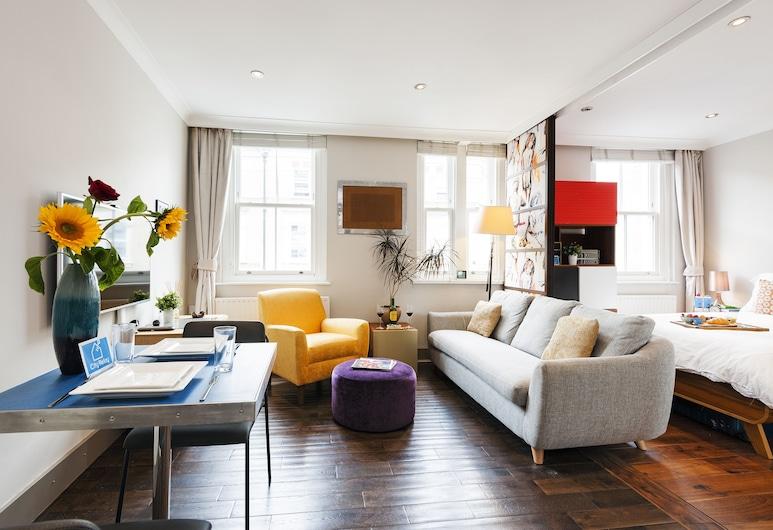 The Drayton Gardens Gem - NBH, Londra, Apart Daire, 2 Yatak Odası, Oturma Alanı
