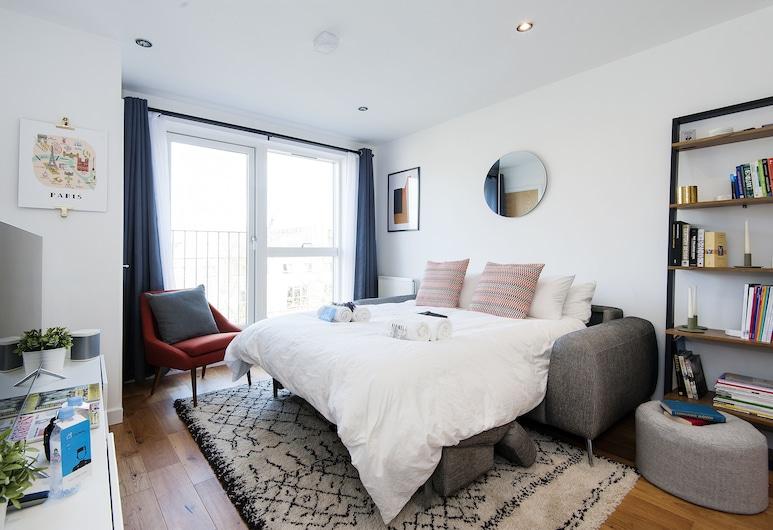 康登倫敦自治市閣樓酒店 - AS1, 倫敦, 公寓, 1 間臥室, 客廳
