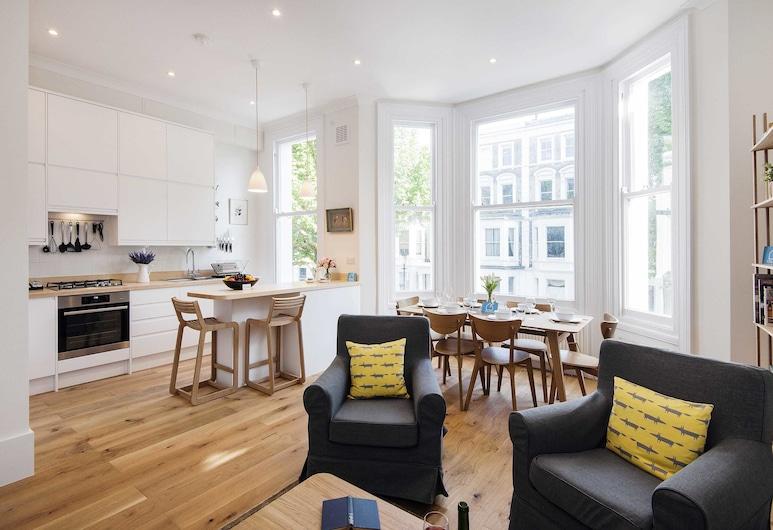 華美菲爾比奇花園公寓酒店 - CSD, 倫敦, 豪華公寓, 2 間臥室, 客廳