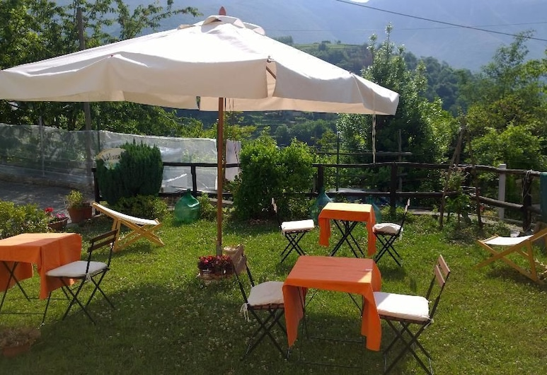 Villa Bianca, Tramonti, Gazebo
