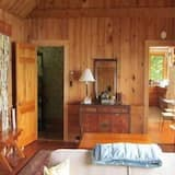 Cottage, 1 Bedroom, Fireplace - Living Area