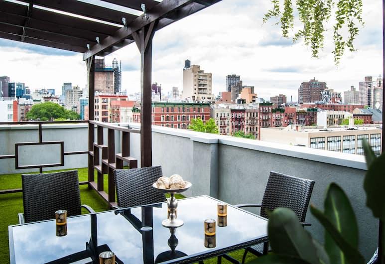 Madison LES Hotel, New York, Classic kahetuba ühele, suitsetamine keelatud, Terrass