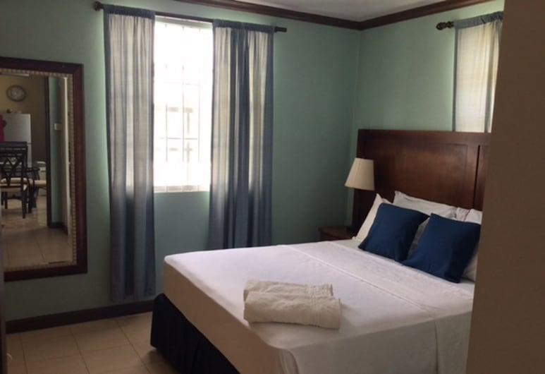 Believe Caribbean Apartments, Bridgetown, Studio Économique, 1 grand lit, Chambre