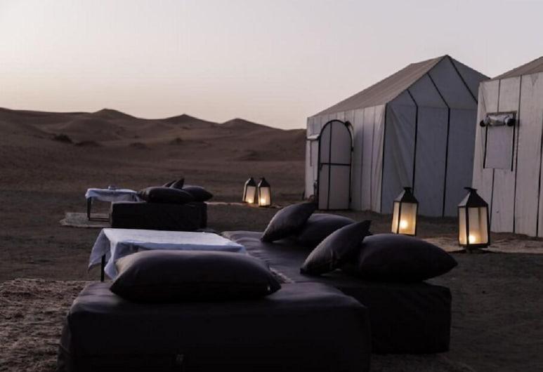 Sirocco Luxury Camp, Taouz, Terrass