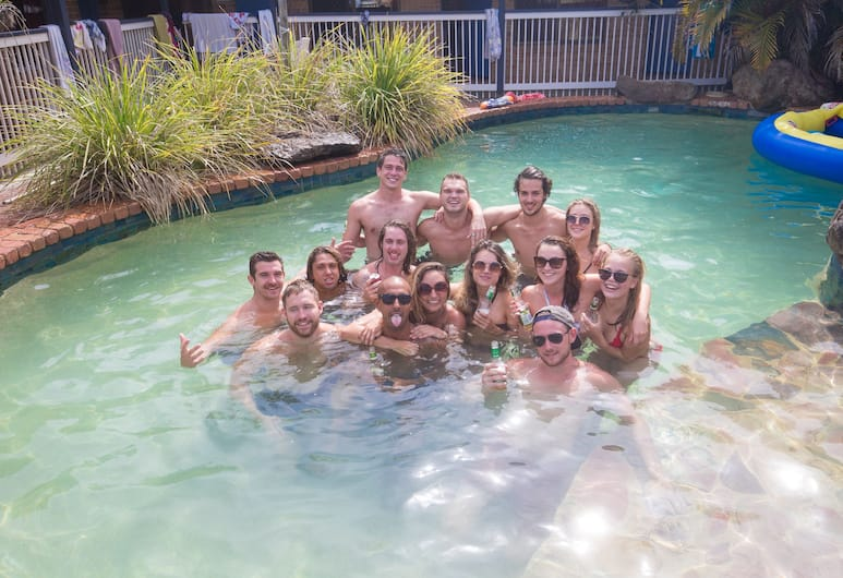 Backpackers Holiday Village, Byron Bay, Outdoor Pool