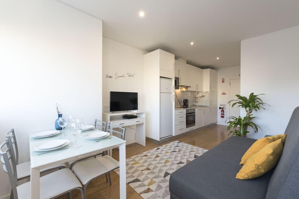 Standard Apart Daire, 1 Yatak Odası - Odada Yemek Servisi