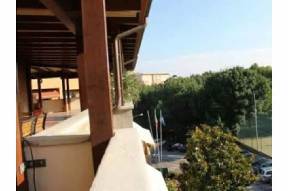 Dzīvokļnumurs ar papildu ērtībām, divas guļamistabas (Attic) - Balkons