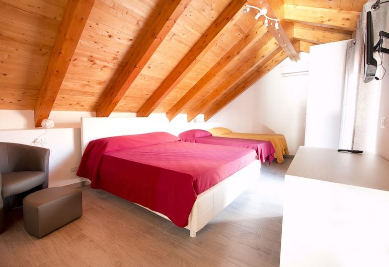 Antico Mulino, Agerola, Pokój dla 4 osób, Pokój