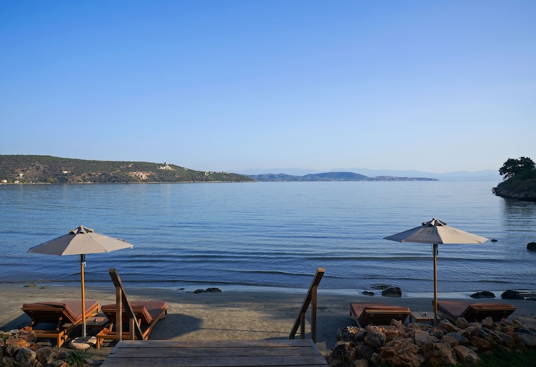 100 Rizes Seaside Resort- Small Luxury Hotels of The World, East Mani, Beach