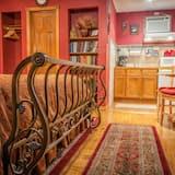 Izba typu Comfort, 1 extra veľké dvojlôžko, kuchynka, výhľad na jazero - Súkromná kuchynka