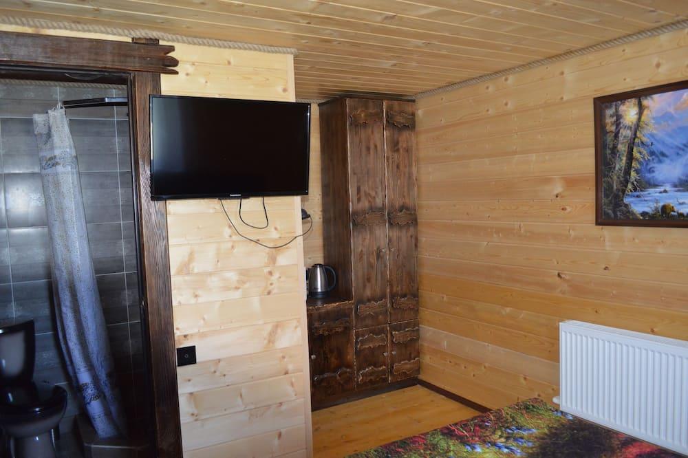 基本四人房, 2 間臥室, 小廚 - 客廳