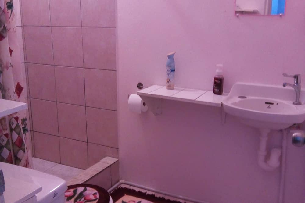 Standard Apartment, 1 Katil Ratu (Queen), Kitchen - Bilik mandi