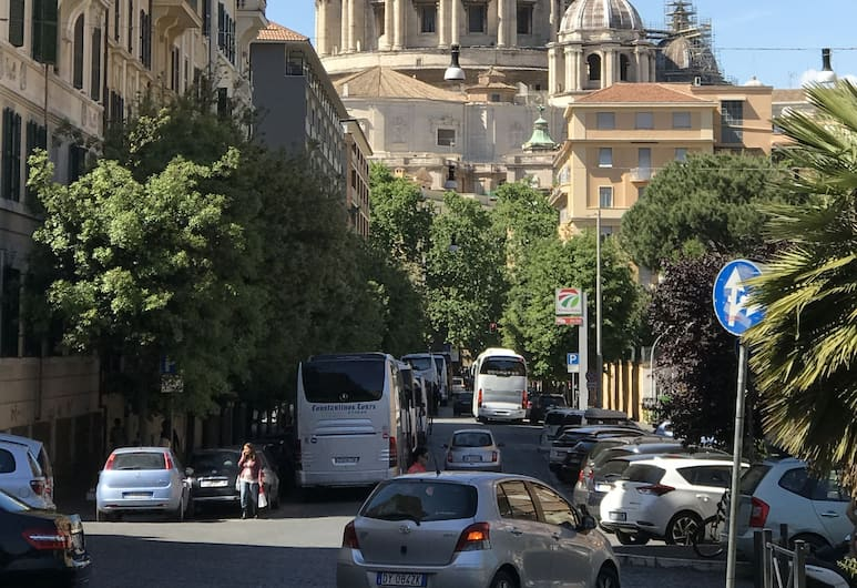 RentalsInRome, Róma, Kilátás a szálláshelyről