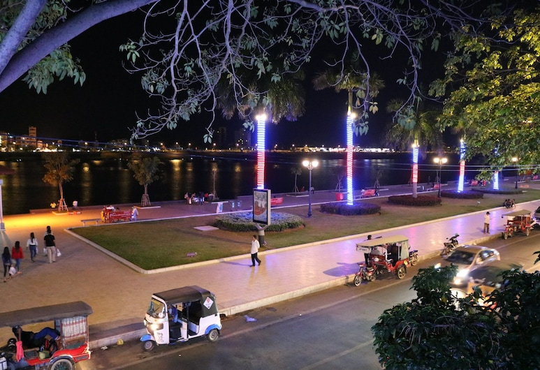 Cool Wrong Backpacker Hostel, Phnom Penh, Výhľad z hotela