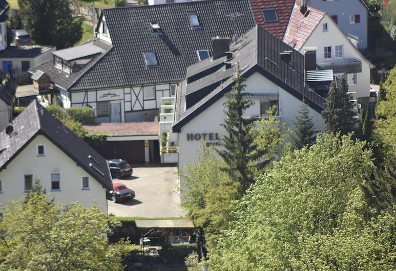 Hotel Münzmay, Stuttgart, Jardín