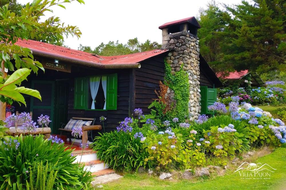 Семейный домик, 2 спальни, камин, вид на горы - Балкон
