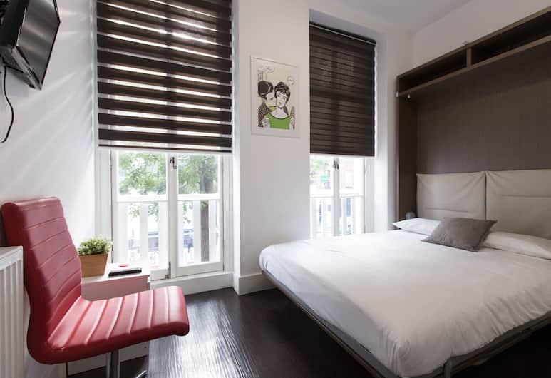 Charlotte Street Apartments by Allô Housing, London, Comfort-Zimmer, 1 Doppelbett, eigenes Bad, Zimmer