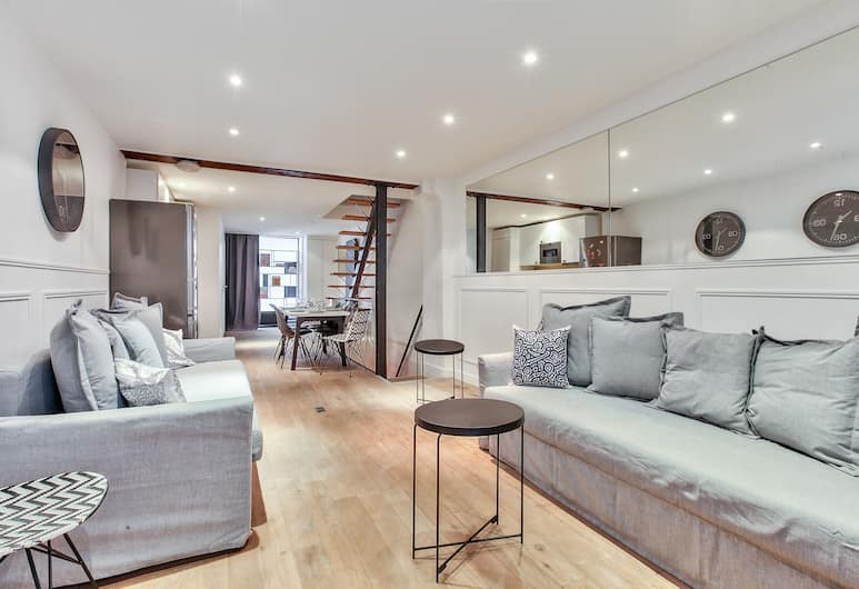 31 - Atelier Keith Harings, Paris, Apartment, 2 Bedrooms, Living Room
