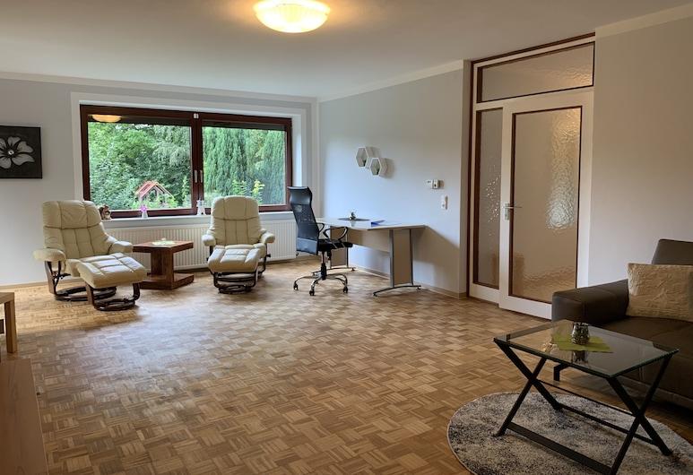 易北河格呂克斯塔特公寓 - 近機場, 格呂克斯塔特, 公寓, 客廳