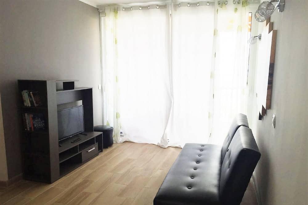 Apartamento estándar, 2 habitaciones, vistas al mar - Sala de estar
