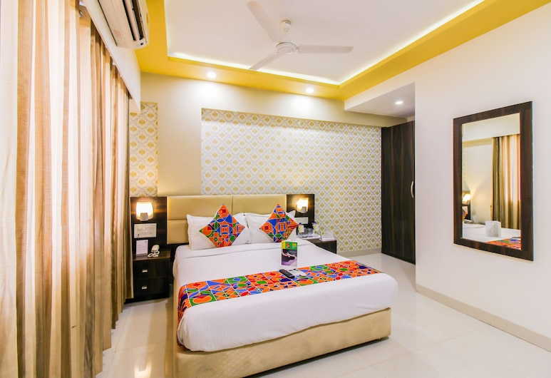 FabHotel Galaxy Comforts Andheri East, Mumbai, Deluxe Double Room, 1 Double Bed, Non Smoking, Guest Room