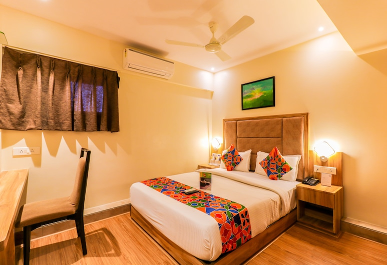 FabHotel Byaris International Airport, Mumbai, Deluxe Double Room, 1 Double Bed, Non Smoking, Guest Room View