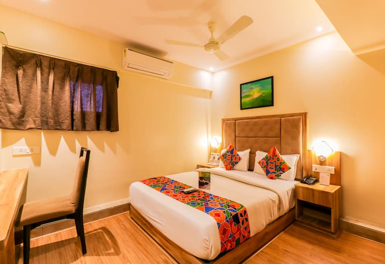 FabHotel Byaris International Airport, Mumbai, Deluxe-Doppelzimmer, 1 Doppelbett, Nichtraucher, Ausblick vom Zimmer