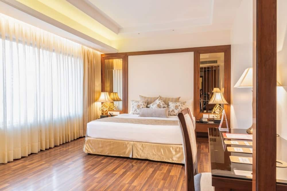 Junior-suite - 1 kingsize-seng - handicapvenligt - Værelse