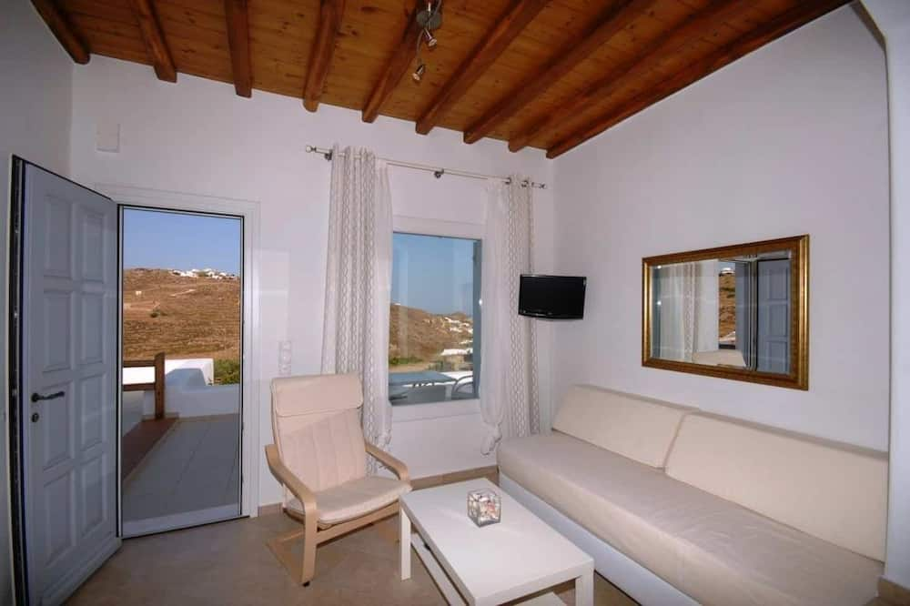 Apartment, Sea View (3 Adults) - Living Room