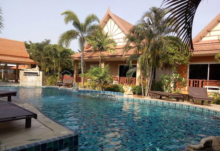 多拉波恩之家酒店, Hua Hin, 室外泳池