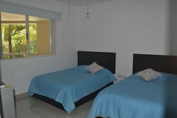 阿範特拉斯港藍色公寓式客房酒店的圖片