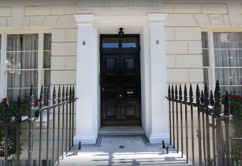 蘭卡斯特門公寓酒店, 倫敦, 住宿正面