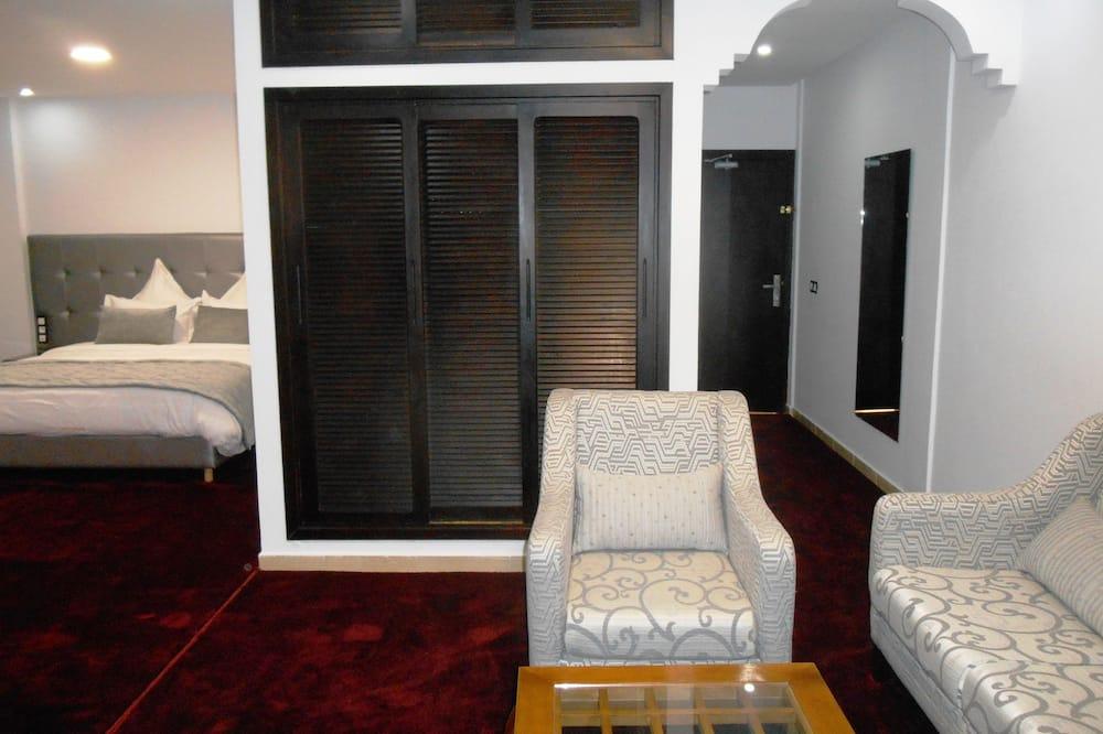 套房, 海景 - 客廳