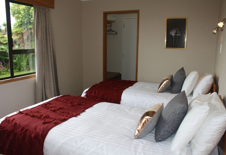 Jenny's Bed & Breakfast, New Plymouth, Chambre Confort avec lits jumeaux, 2 lits une place, Chambre