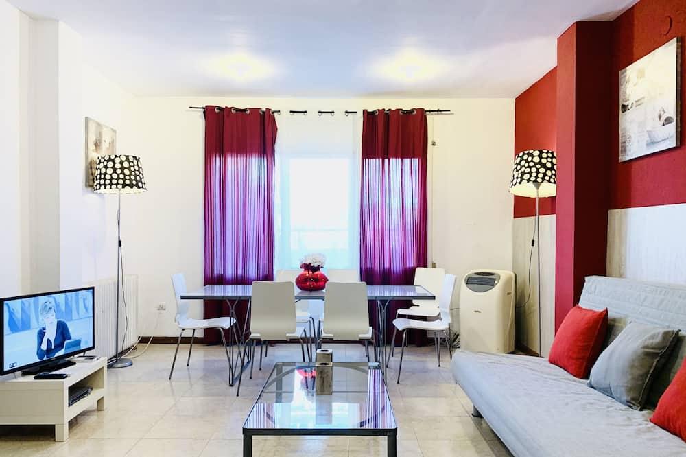 公寓, 4 間臥室, 露台 - 客廳