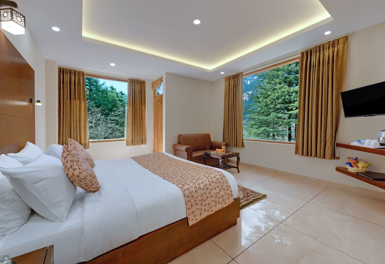 The Fern Residency Manali, Manali, Deluxe Double Room, 1 King Bed, Non Smoking, Guest Room