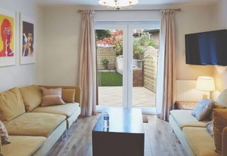 漢普頓住宅酒店, 倫敦, 高級公寓, 4 間臥室, 客廳