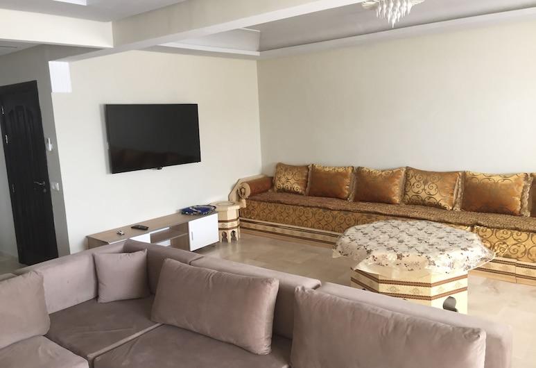 Appartement de Luxe Wilaya Tetouan, Тетуан, Сімейні апартаменти, 3 спальні, Вітальня