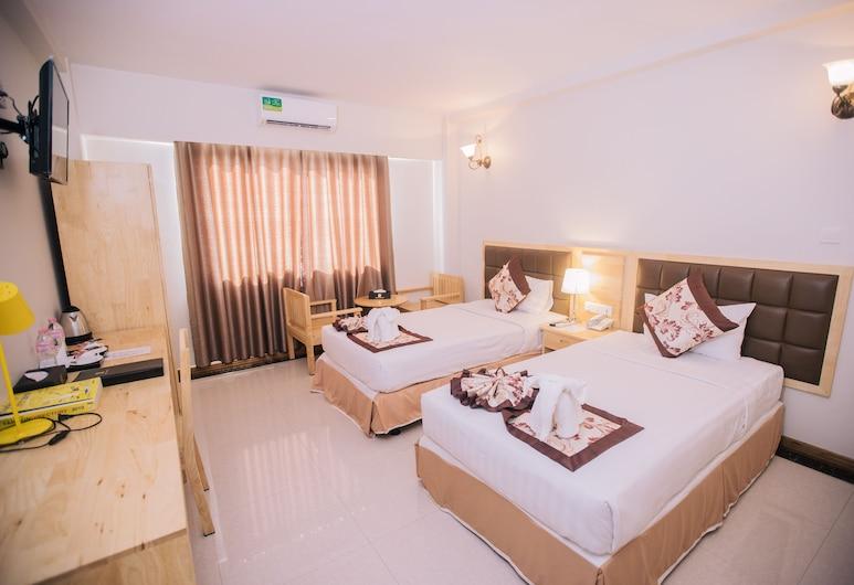 Hotel Kamarkyi, Yangon, Standard Twin Room, Guest Room