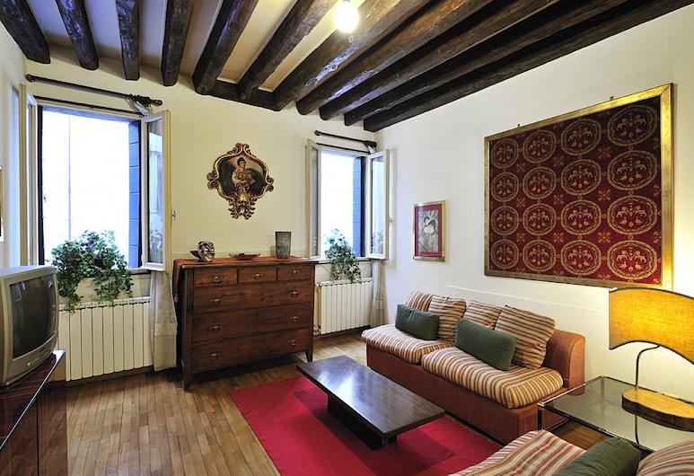 Ca Maurice, Benátky, Apartmán, 1 ložnice, Obývací prostor